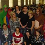 DOVETAIL WEAR PYJAMAS TO WORK FOR CHARITY