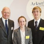 BRIDGE TRUST BACKS TWO LOCAL ARKWRIGHT SCHOLARS