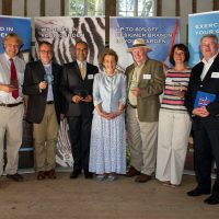 PARTY CELEBRATES SUCCESS IN THE GARDEN OF ENGLAND