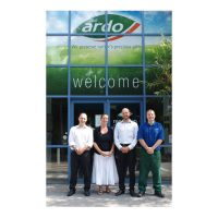 ARDO UK TAKES ON EIGHT NEW MEMBERS OF STAFF