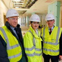 MP SEES PROGRESS AT £85M KENT HOSPITAL