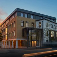 CRIPPS MOVES INTO NEW OFFICE