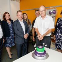 SIMON MORGAN MARKS A DECADE IN BUSINESS