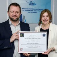 COOLAIR AWARDED NEW CYBER SECURITY ACCREDITATION