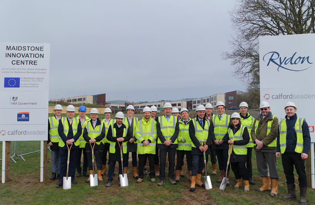 GROUND BREAKING FOR MAIDSTONE INNOVATION CENTRE
